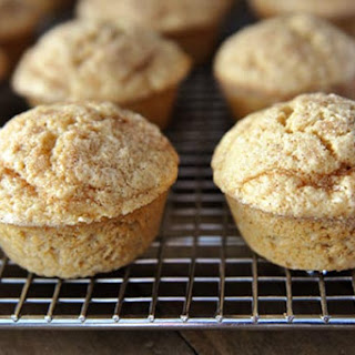 Cinnamon and Sugar Dusted Coconut Vanilla Breakfast Muffins