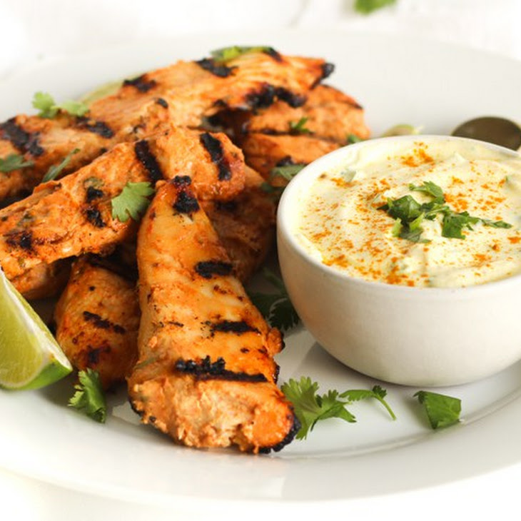Spicy Coconut Chicken With Coconut Turmeric Dipping Sauce