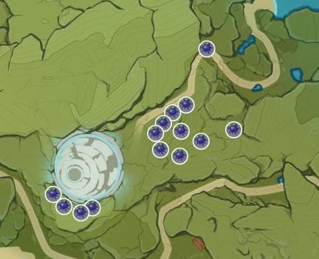 localizações Ascensão