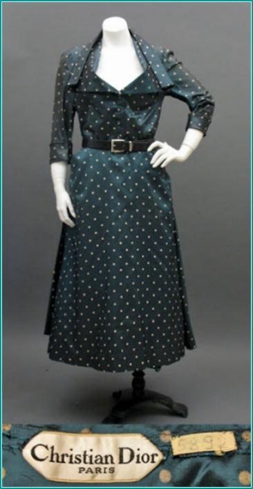 Dior 1948 Polka Dot Dress