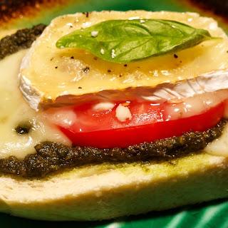 Betsy's No Garlic Open-Faced Tomato Sandwich