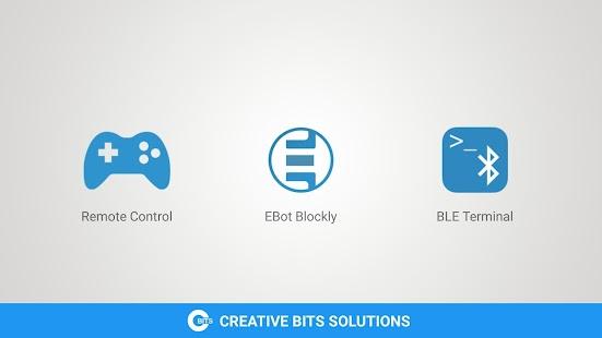 Ebot Blockly - náhled