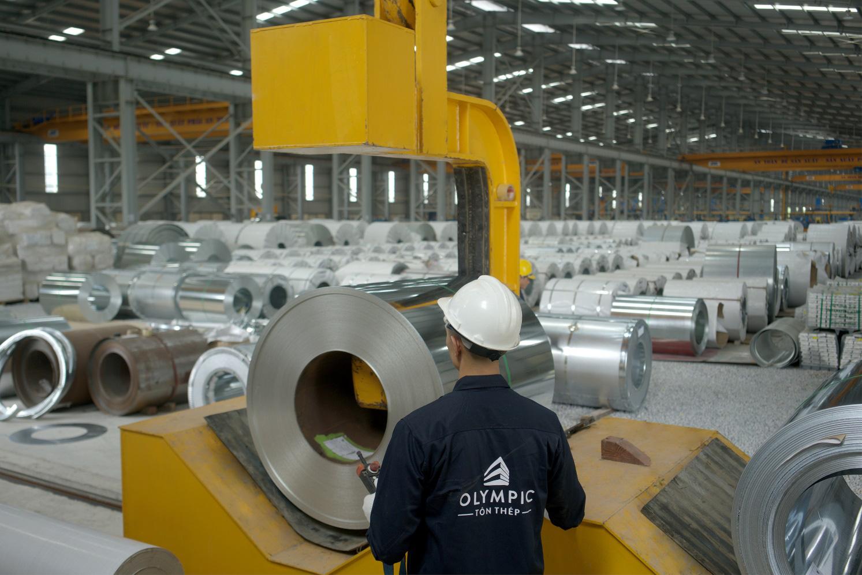 Dây chuyền sản xuất thép mạ kẽm chất lượng cao