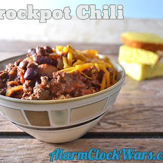 Crockpot Chili.