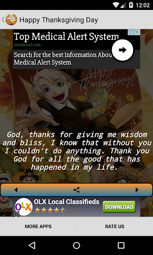 Happy Thanksgiving Day Quotes Screenshot