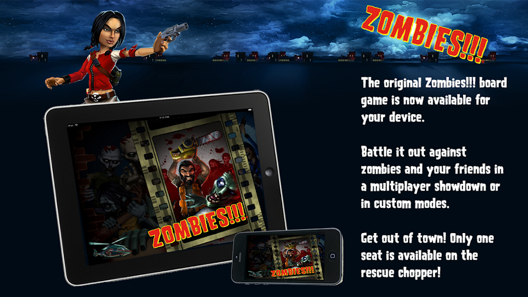 Zombies!!! ® Board Game 1.1.737