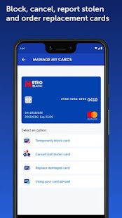 Metro Bank Screenshot
