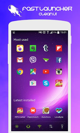 simple and fast launcher apk