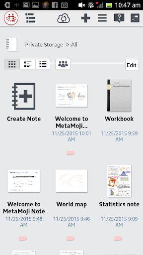 MetaMoJi Note for Business 3 3.7.7.0 screenshots 3