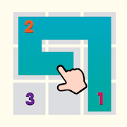 Fill - One - Line Puzzle connect square