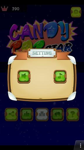 Télécharger Gratuit Bonbons Pop Star (Candy)  APK MOD (Astuce) screenshots 2