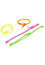 Blixtlåsarmband,neon