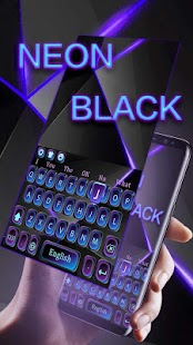 Cool neon černý - náhled