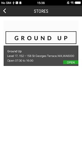 Ground Up Online Ordering