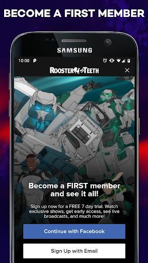 Rooster Teeth® screenshot