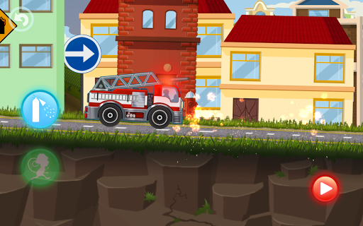 Fire Fighters Racing: Fireman Drives Fire Truck  screenshots 7