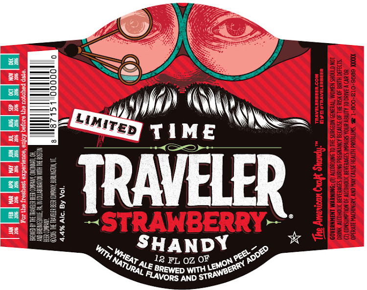 Logo of Traveler Time Traveler Strawberry Shandy