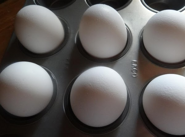 """HOW TO MAKE PERFECT """"BOILED"""" EGGS Eggs go in the oven for 30 minutes, then..."""