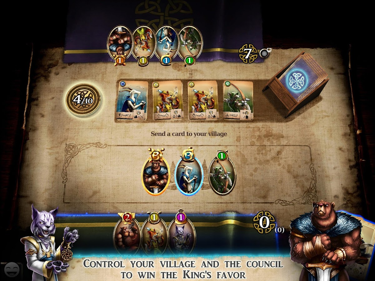 Harald: A Game of Influence- screenshot