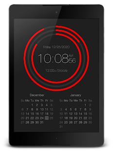 "PsPsClock ""Arc"" - Music Alarm Clock & Calendar - náhled"