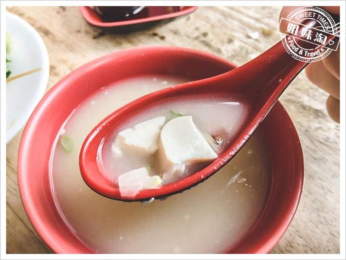 嘉義第一名火雞肉飯五福味噌湯