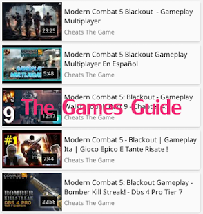 Guide Modern Combat 5 Blackout- screenshot thumbnail