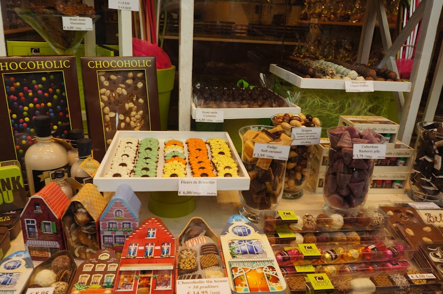 Chocolates for the Chocoholic in Brussels, Belgium (2014)