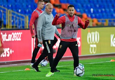📷 Eden Hazard déjà de retour à l'entraînement