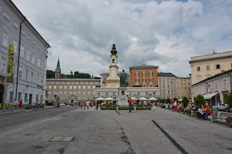 Photo: Plac Mozarta.
