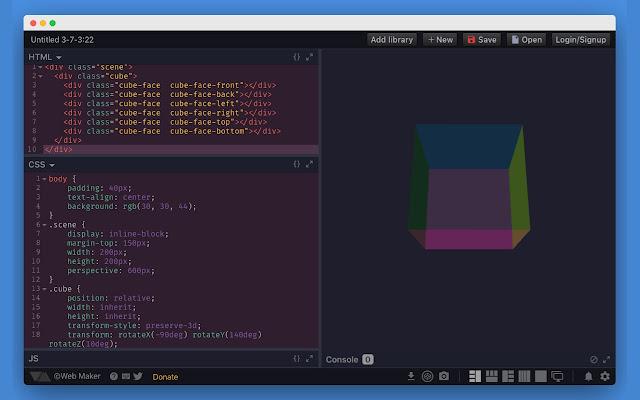 Html online editor div