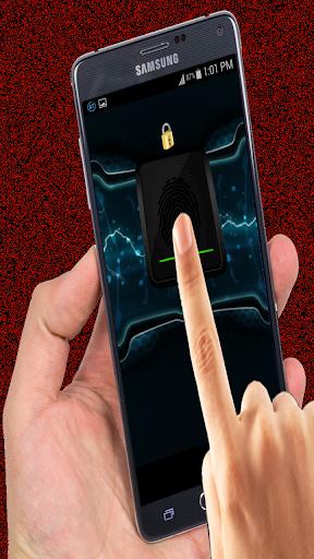 Finger and Thumb Scanner Prank
