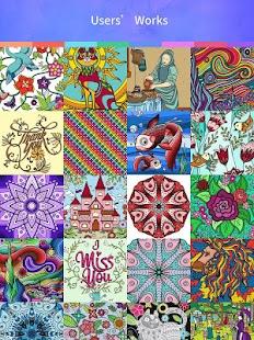 colouring games screenshot thumbnail - Games Colouring