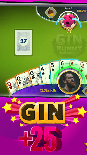 Gin Rummy - Online cheat screenshots 2
