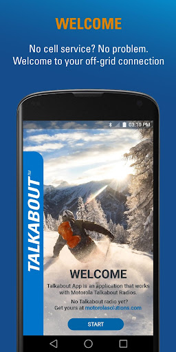Motorola Talkabout 1.0.4 screenshots 1