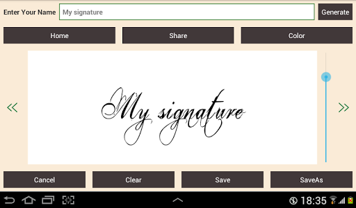 Digital Signature screenshot 2