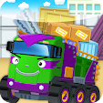 Tayo Monster Max - Dump Truck Car Game icon