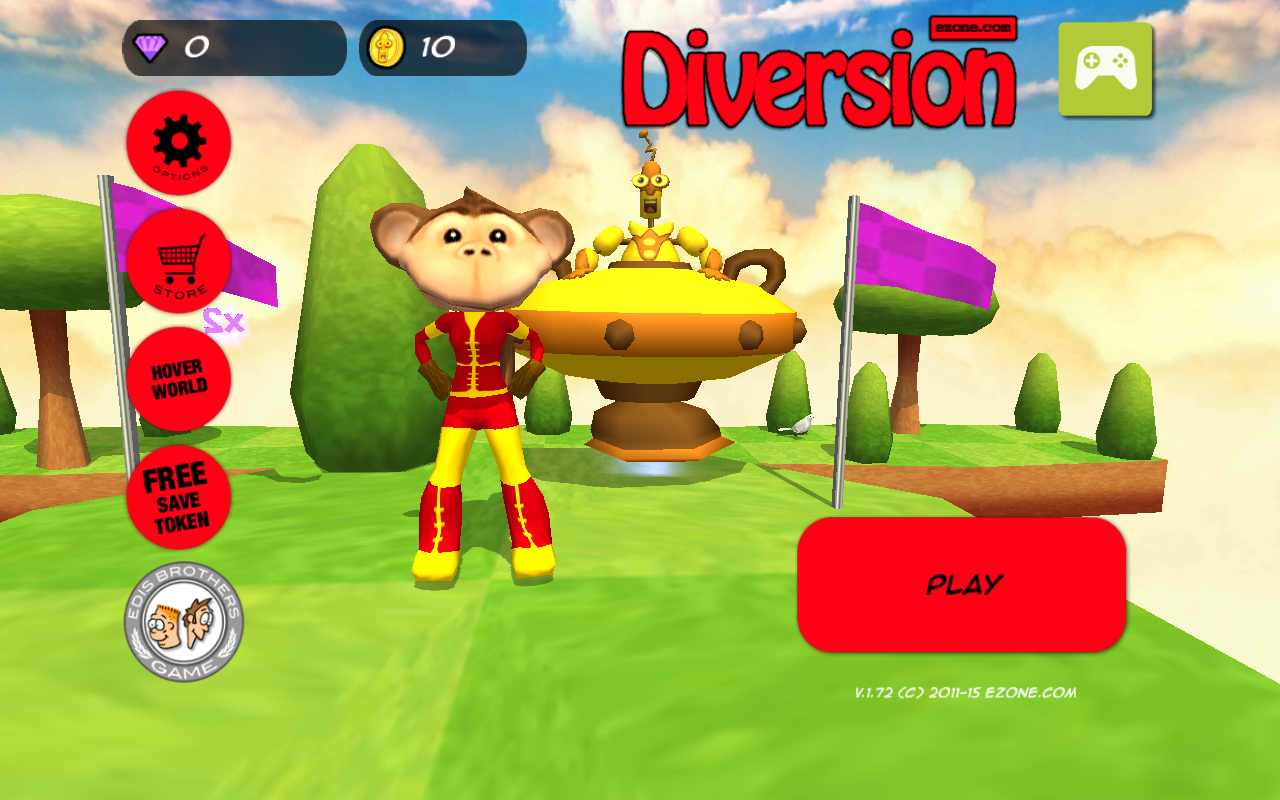 Diversion- screenshot