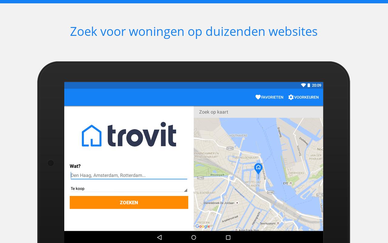Huizen te koop en te huur android apps op google play for App te huur