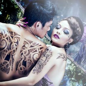 by Maybelle Blossom Dumlao-Sevillena - People Body Art/Tattoos