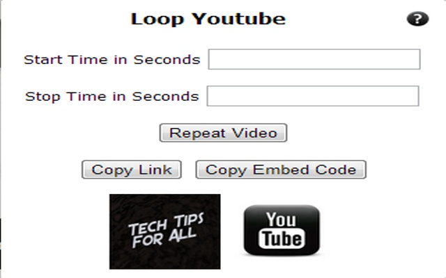 TTFA Repeat or Loop for Youtube Videos