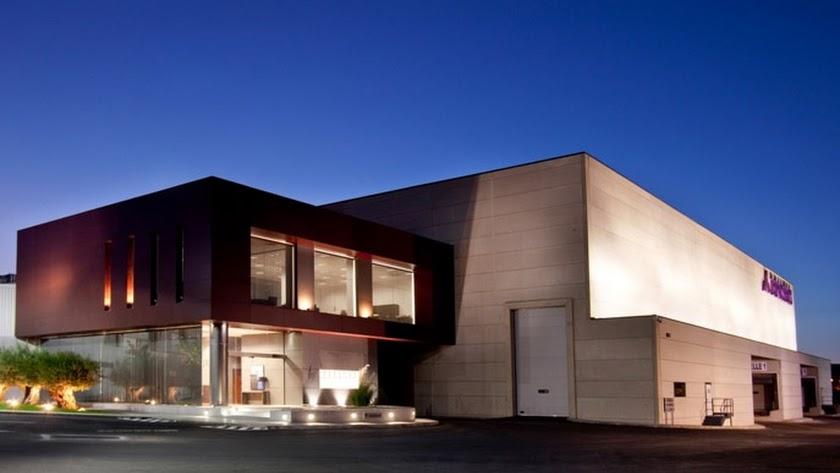 Instalaciones de Briseis, empresa almeriense con sede en Benhadux.