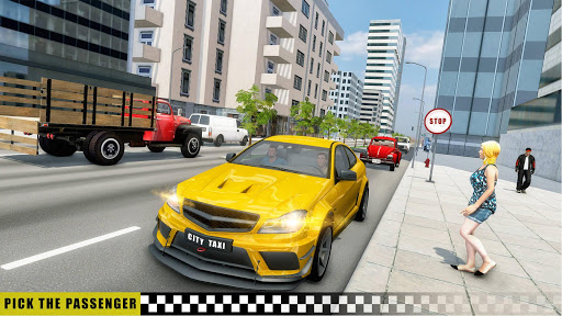 Mobile Taxi Car Driving Games Police Car Simulator 1.4 screenshots 2