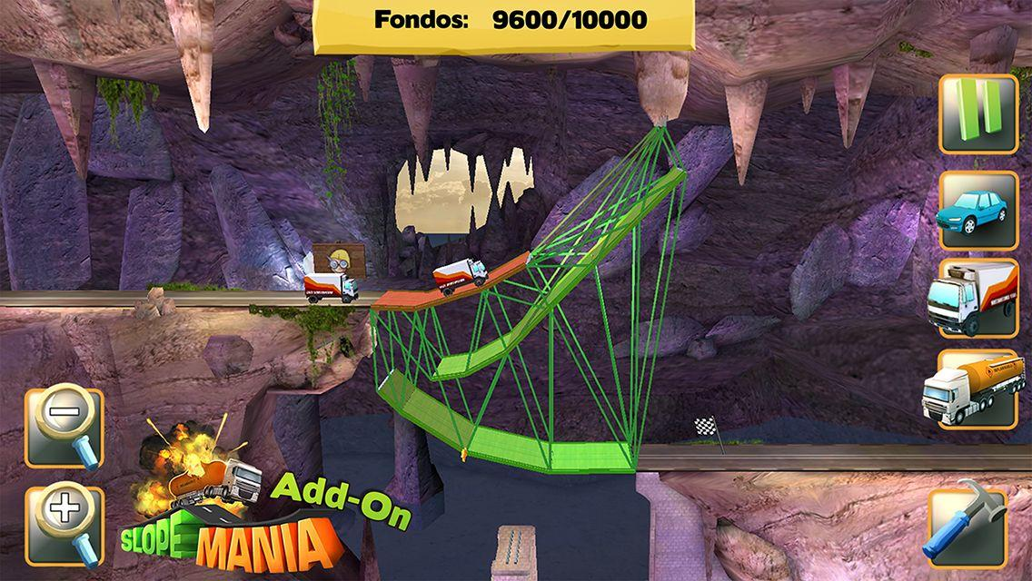 Bridge Constructor: captura de pantalla
