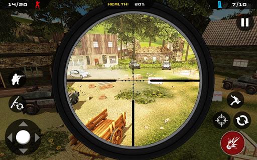 Sniper Ghost Commando Warrior - Jungle Survival APK MOD – ressources Illimitées (Astuce) screenshots hack proof 2