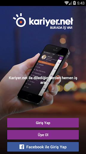 Приложения Kariyer.net (apk) бесплатно скачать для Android / ПК screenshot
