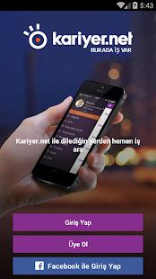 Kariyer.net Ekran Görüntüsü