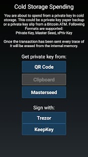 Mycelium Bitcoin Wallet Screenshot