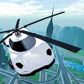 Flying Car Rescue Flight Sim icon