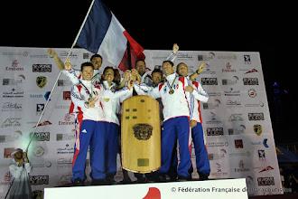 Photo: Podium Championnats du Monde 2012 VRV