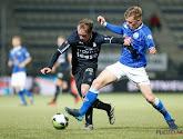 Sven Blummel van FC Den Bosch scoort een schitterende omhaal
